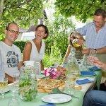 Sommerfest zum siebenbürgisch-ayurvedischen Kochbuch